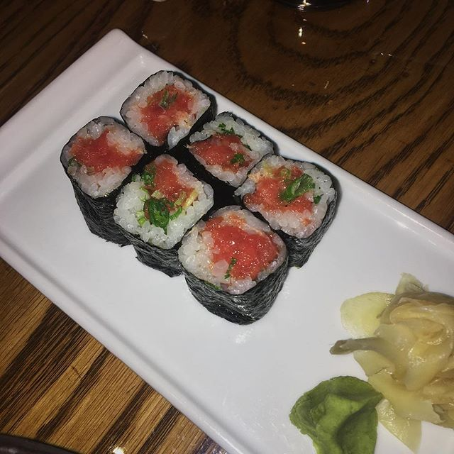 #Toro scallion roll was, dear lord. 🤤