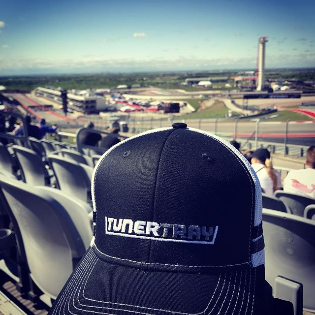 Turned out to be a beautiful day once the rain lift.  Ready for the MotoAmerica Superbike Race to start. #tunertray #cota #cotaturn1 #motoamerica