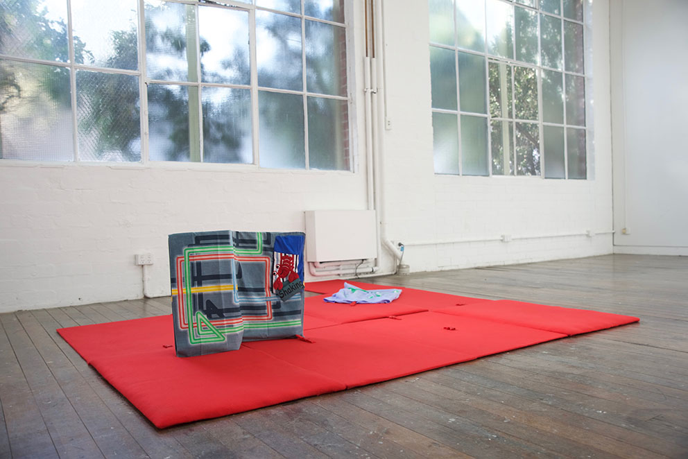 Non-Stop Stretch    Installation view  Victorian College of the Arts, Melbourne  July, 2017