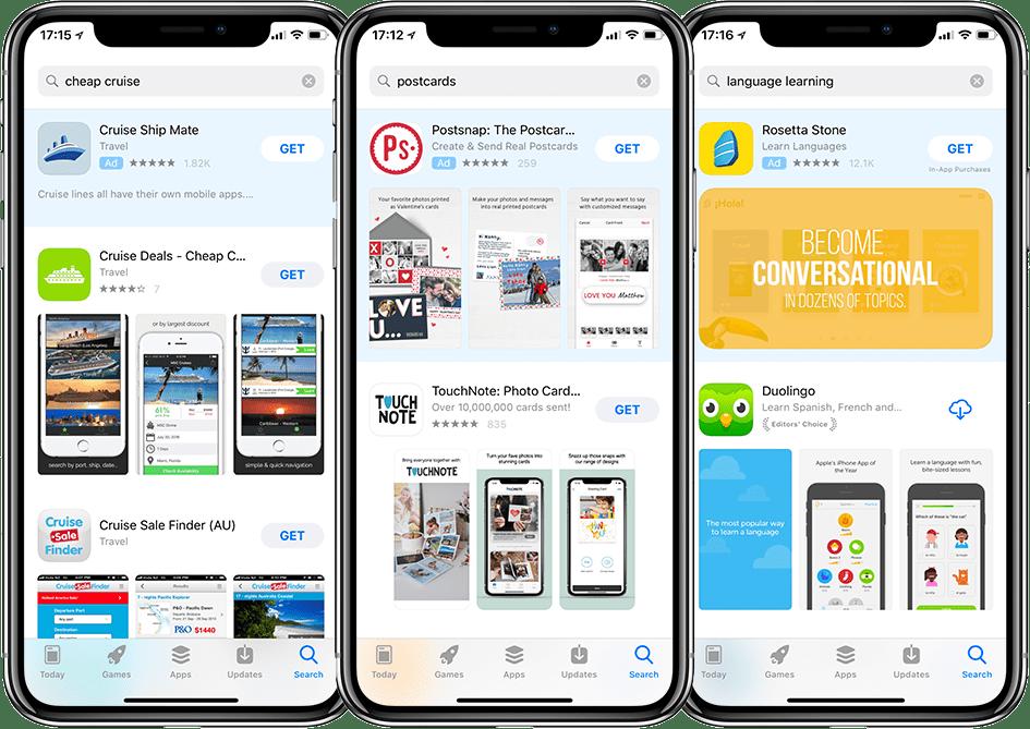 In App Store Advertising