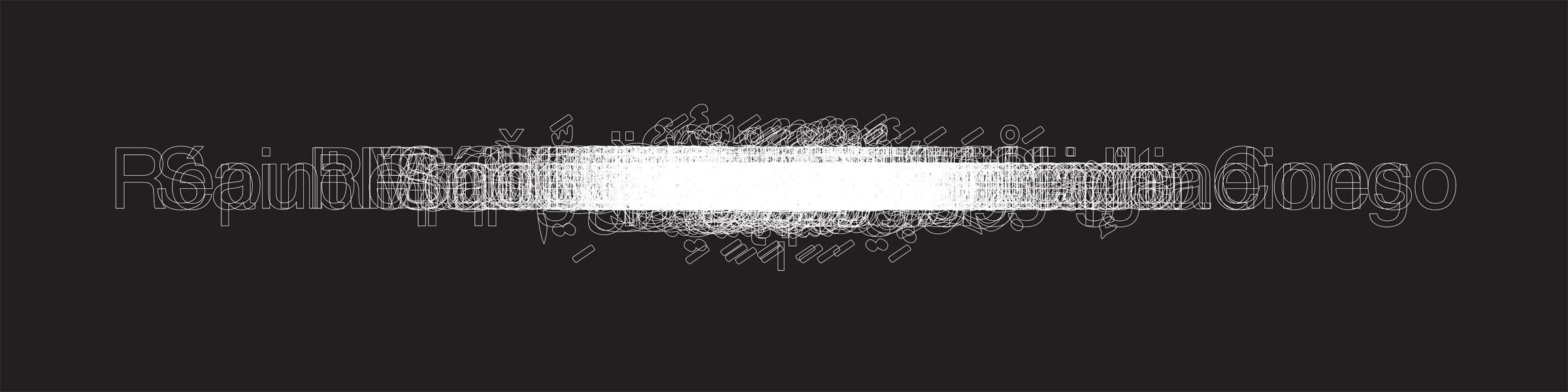 """United Nations"" digital print 12""x48"" 2008"