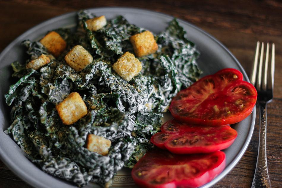 Vegan Kale Salad