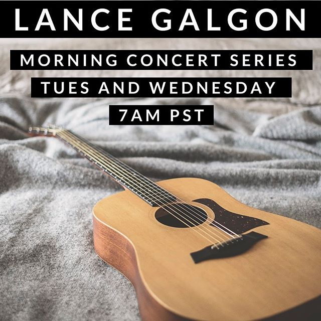 "Heading into this Monday with a BANG!💥 Before heading off to a music retreat, I'm going to host a couple of ""Morning Music"" Acoustic FB Live Concerts. Join me on my Facebook Page for some original tunes and covers from some of my favorite artists to start your morning right. ☕️ Link in Bio 😉 . . #morningmusic #livemusic #independentartist #singer #fblive #coffeeandmusic"