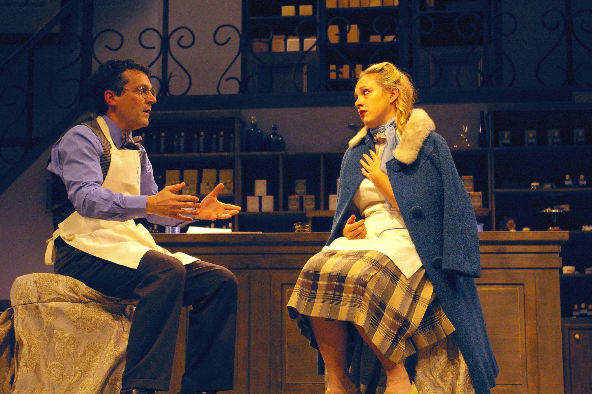 Stefan Winfield as Sipos and Lauren Dutchak as Amalia