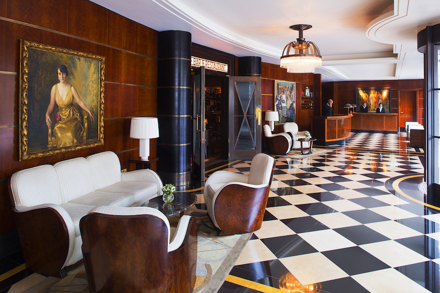 ART DECORUM: THE BEAUMONT HOTEL therake.com - Read article