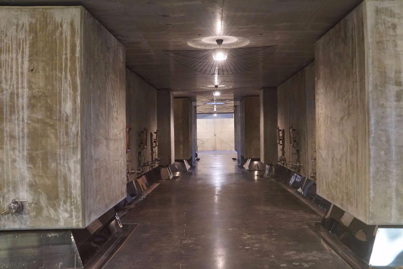 Modern tank room