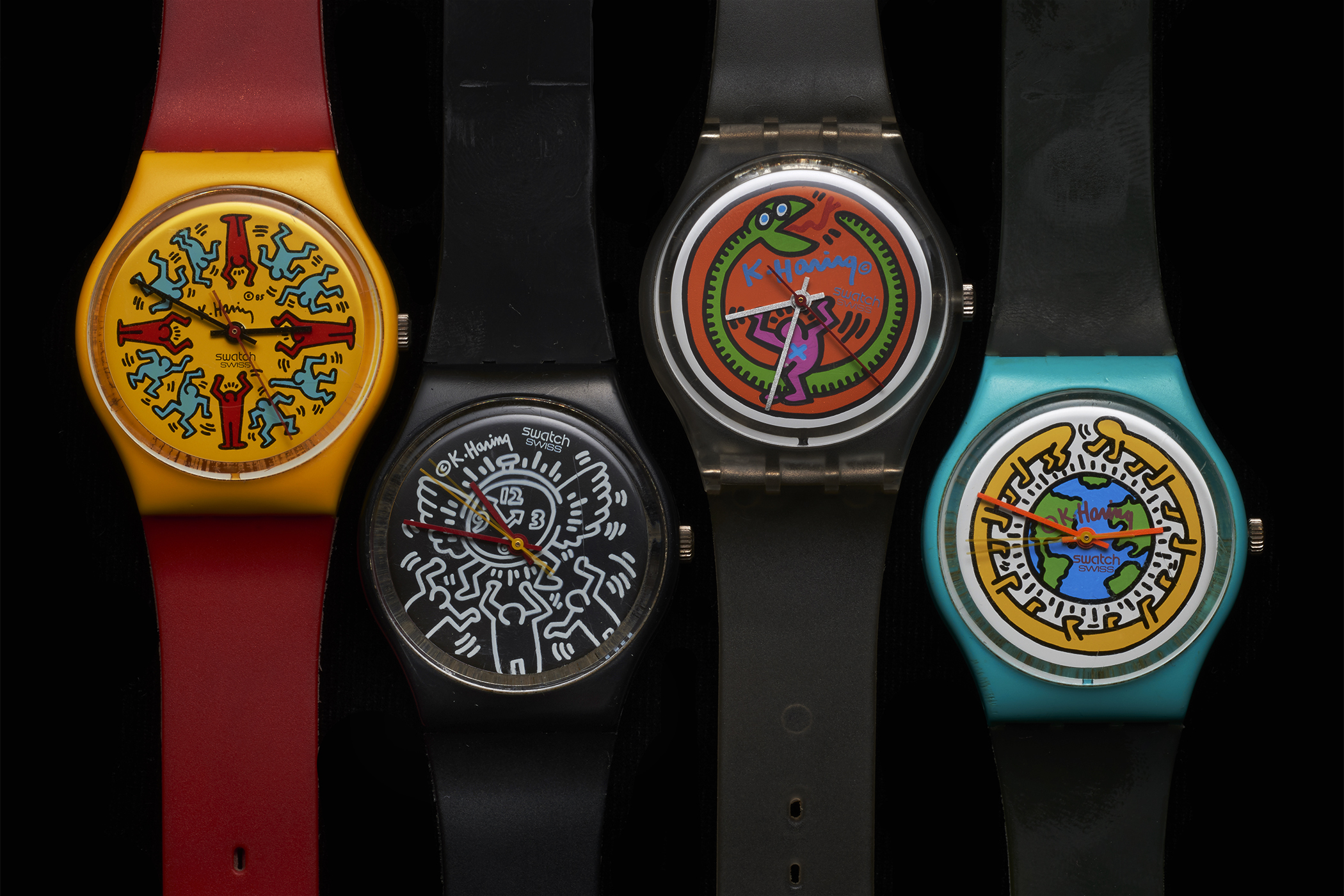 Atom Moore's Keith Haring Swatches