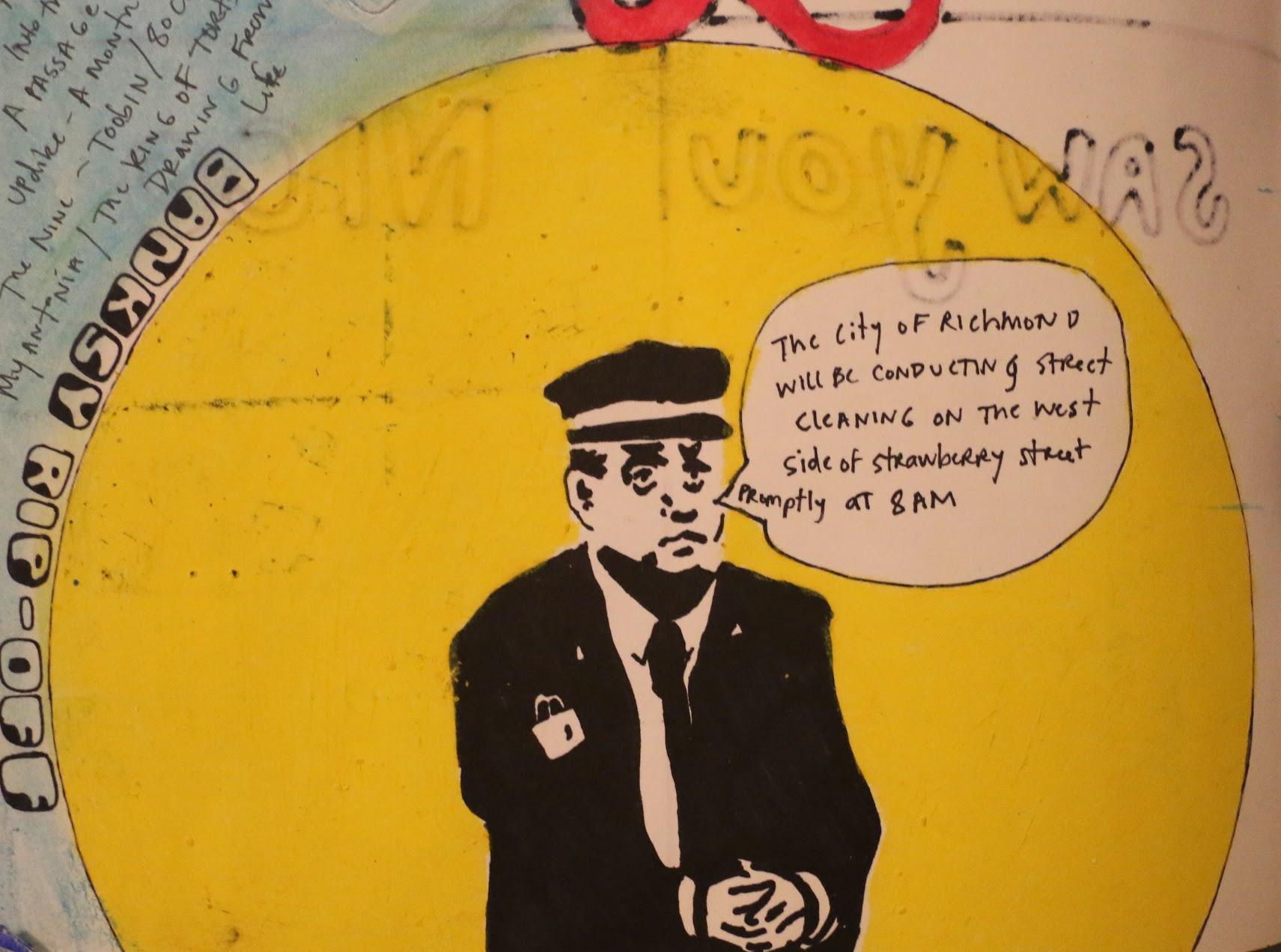 BANKSY RIP-OFF: STRAWBERRY STREET