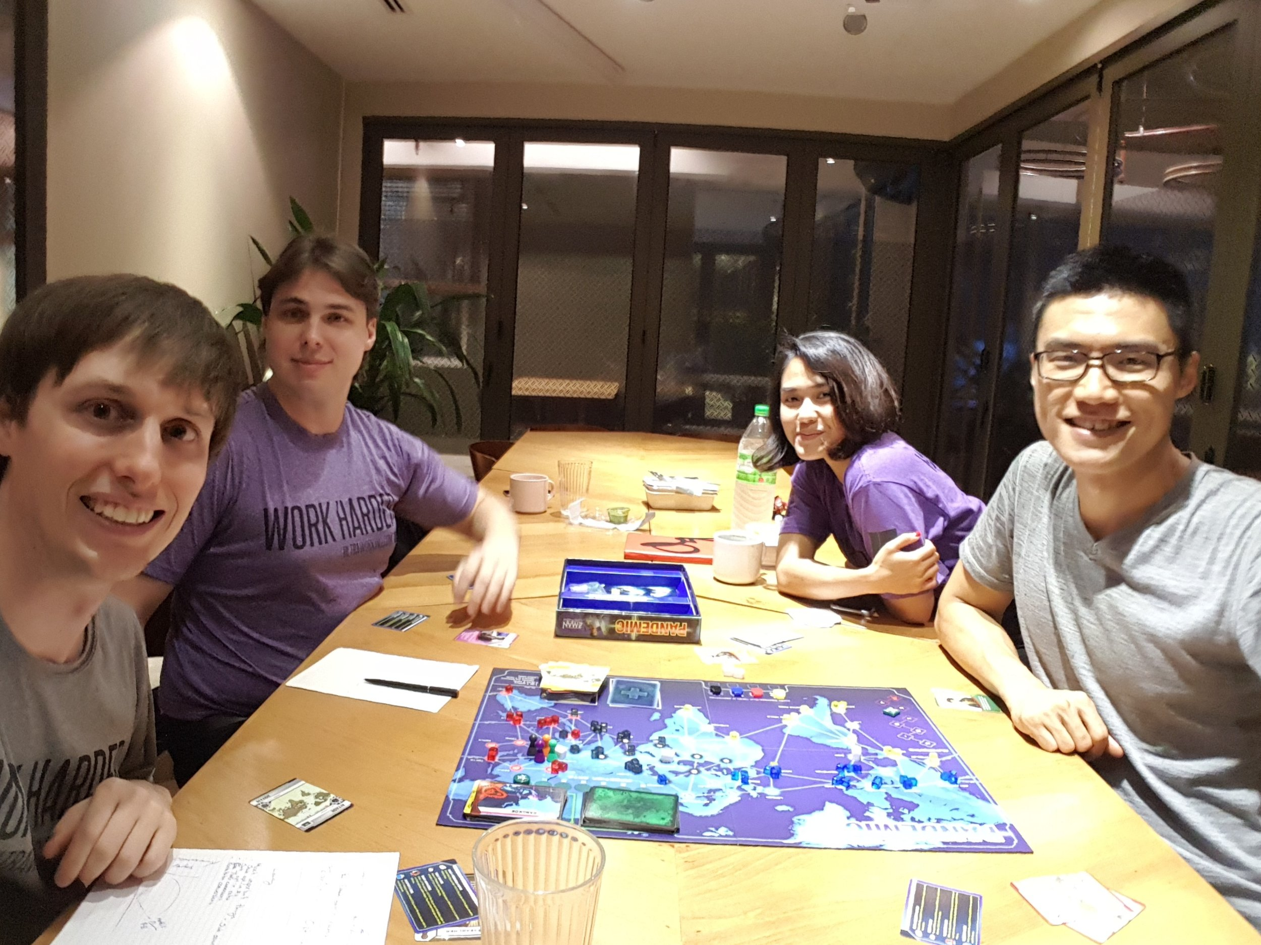 We're also super into boardgames after hours. We would be 1,000% up for a show about boardgames. Seriously.