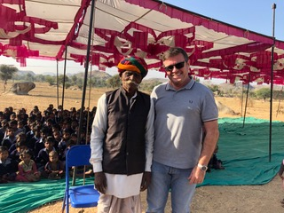 Village Elder and Chris Mills
