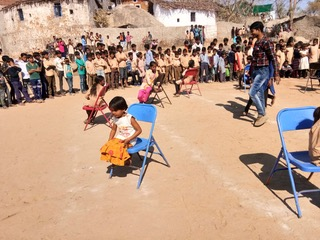 Musical Chairs for the younger ones