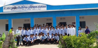 The students at Jhadol Industrial Training Institute
