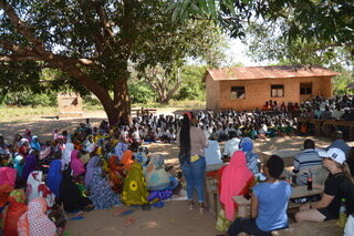 Village Gathering for Handover