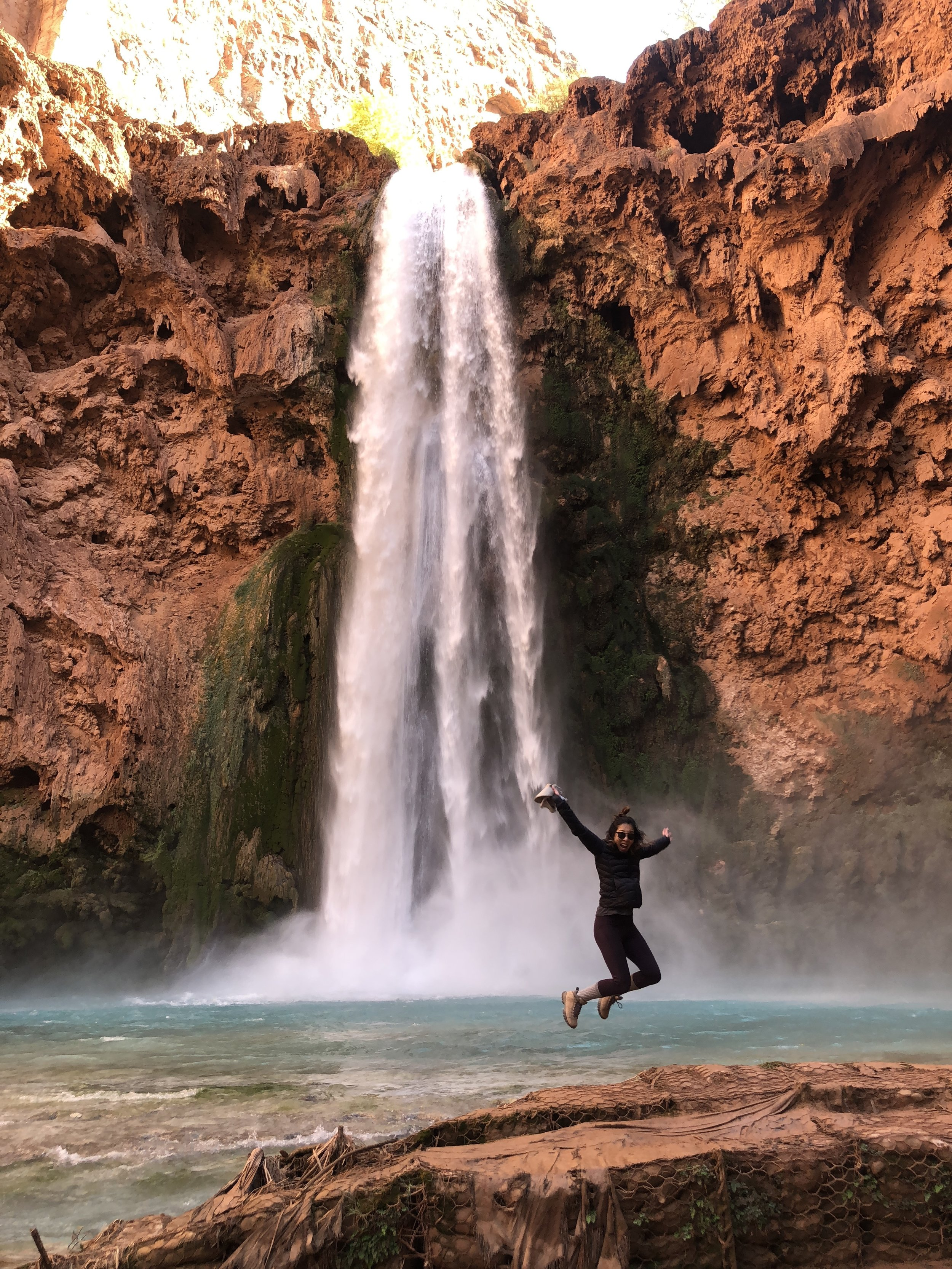 Havasupai, November 2018. That shit was hard. But super dope and so worth it.