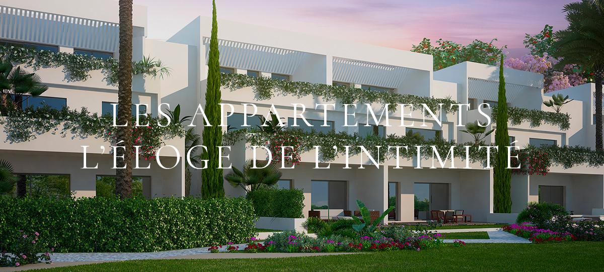 Appartements les résidences du golf