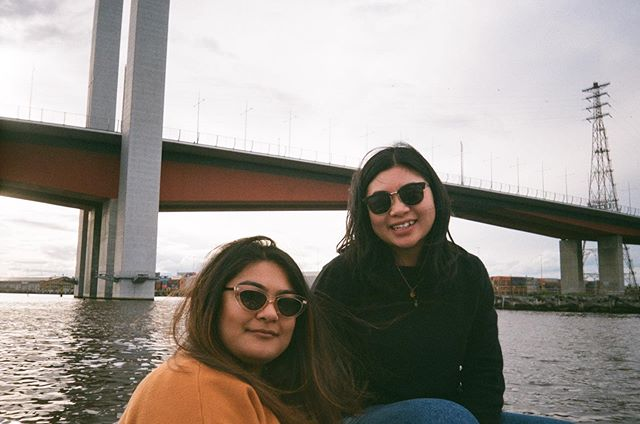 That time we rowed our own boat down the Yarra 🚣🏻♀️ #caughtonfilm @goboatmelbourne