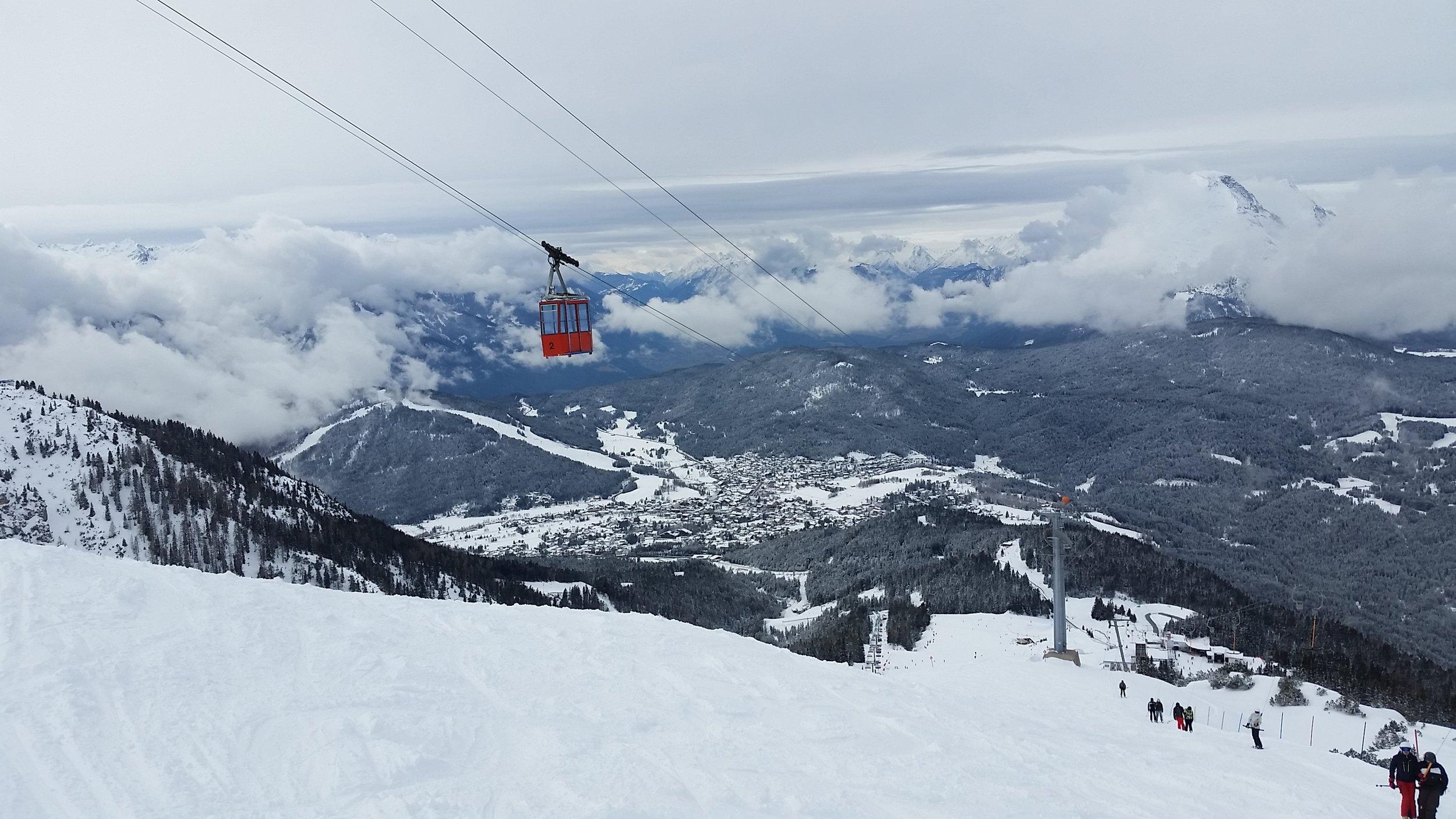 Seefeld Jochbahn at Rosshutte ski area