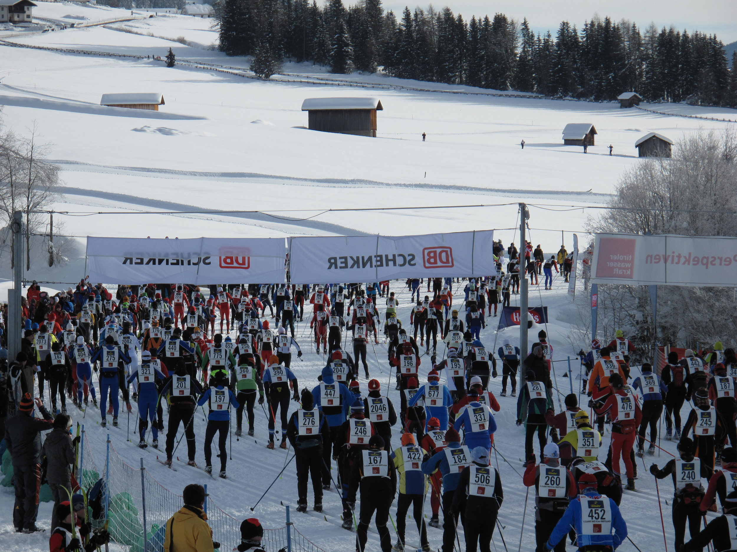 Dolomitenlauf classic race start
