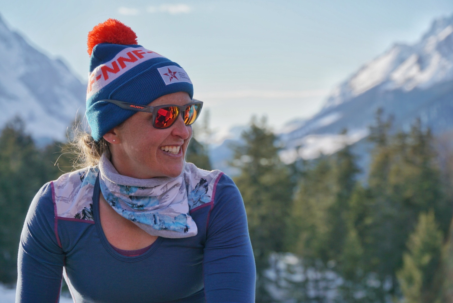 "Holly - Holly Brooks is originally from Seattle. Shortly after college she moved to Anchorage, coaching for the Alaska Pacific University Ski Center. In 2009 she set a ""crazy dream goal"