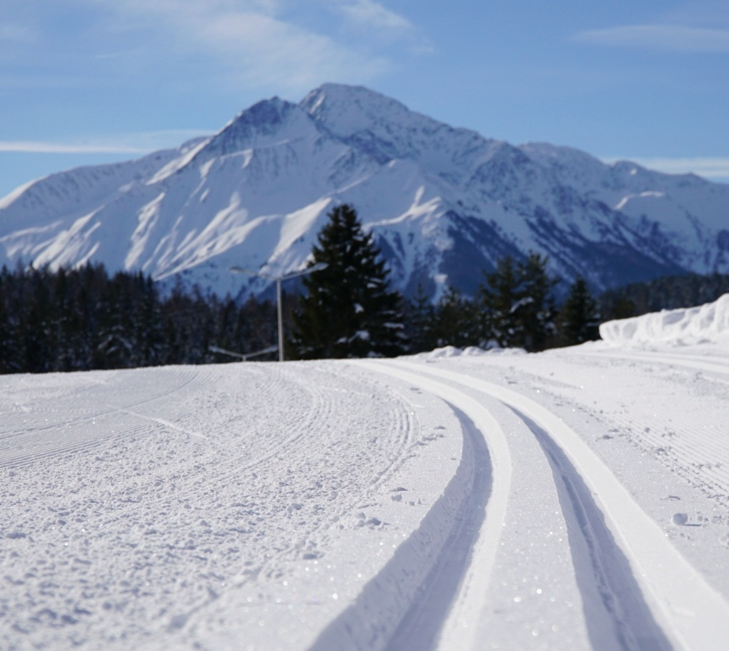 The tracks at Seefeld in Tirol, Austria