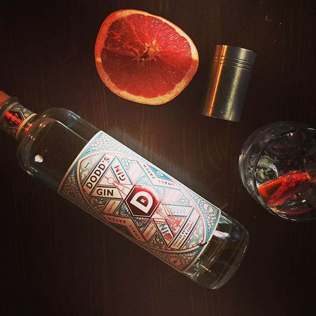 Trust this little number to to break the winter blues@doddsgin. Gin of the week at chosen by @thespirit_infusionist #ginlover #gintime