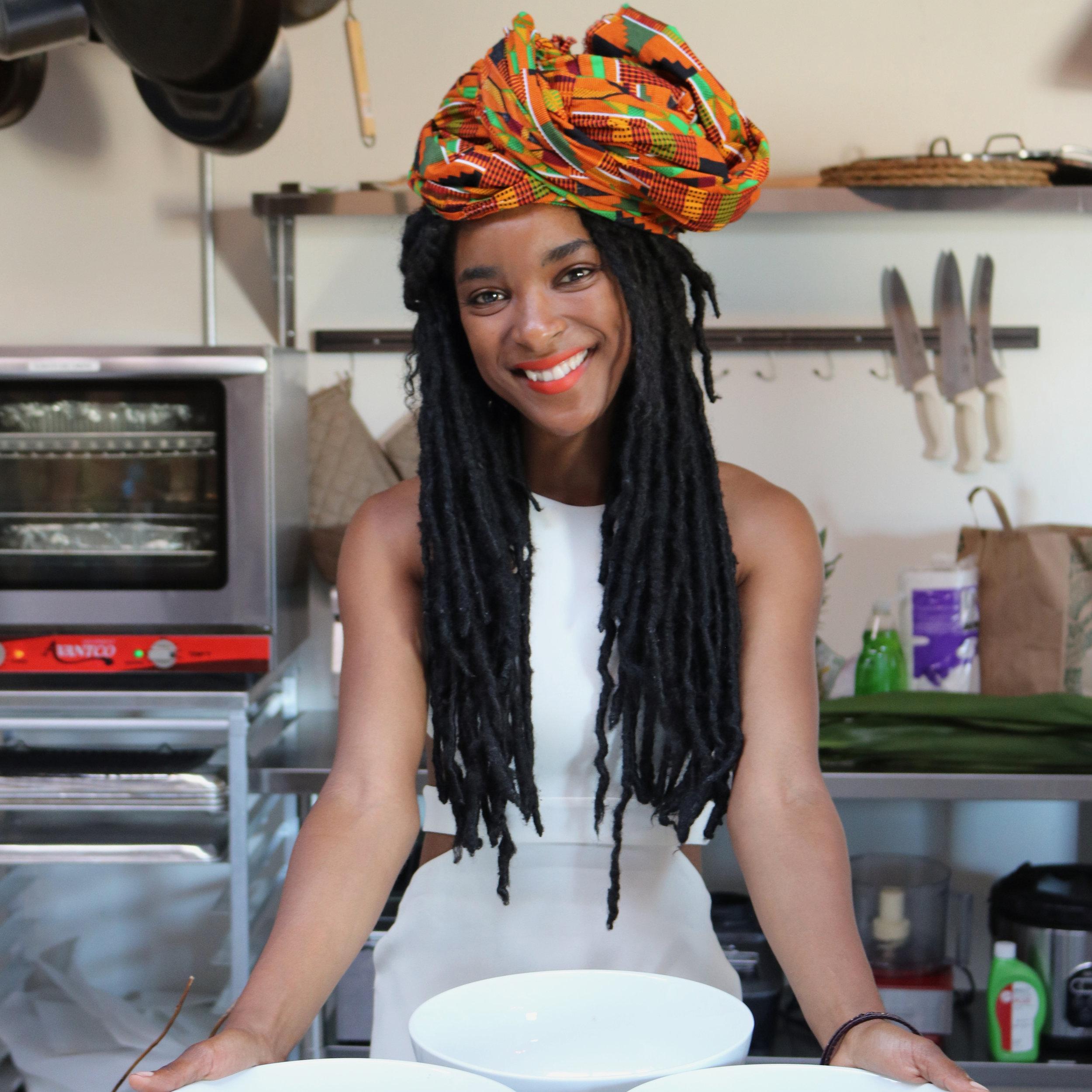 GLADYS NYOTH , Executive Chef @ mbomborestaurant  >  BIO