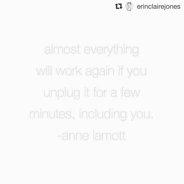 """#Repost @erinclairejones ・・・ learning this lesson so hard right now. the work is always in knowing when to unplug. . as a projector, I know one of the biggest areas that can take me off track in my design is simply not knowing when enough is enough and pushing through my tiredness to try to get things done and """"be productive."""" when in those moments, it's not continuing to push that will serve, but unplugging. the pushing gets me and more depleted where simply doing nothing (even when I worry I'm not being productive enough) is always what restores me. . leveraging the energy and inspiration when it's there and unplugging when it's not is one of my most persistent and important lessons. . I leave for a workshop / retreat tour to mykonos, bali and tuscany next week and in my effort to try to fit in all the things before I left, I had the opportunity to learn the necessity of unplugging (again). . here's to unplugging when we need it and trusting that a little bit of unplugging will always bring us back to ourselves ✨"""