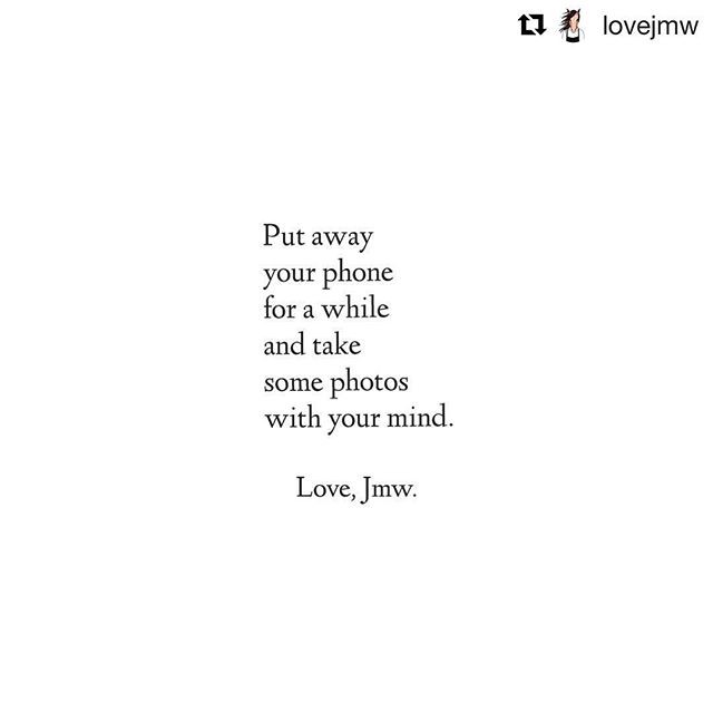 #Repost @lovejmw ・・・ Take some photos with your mind 🌄