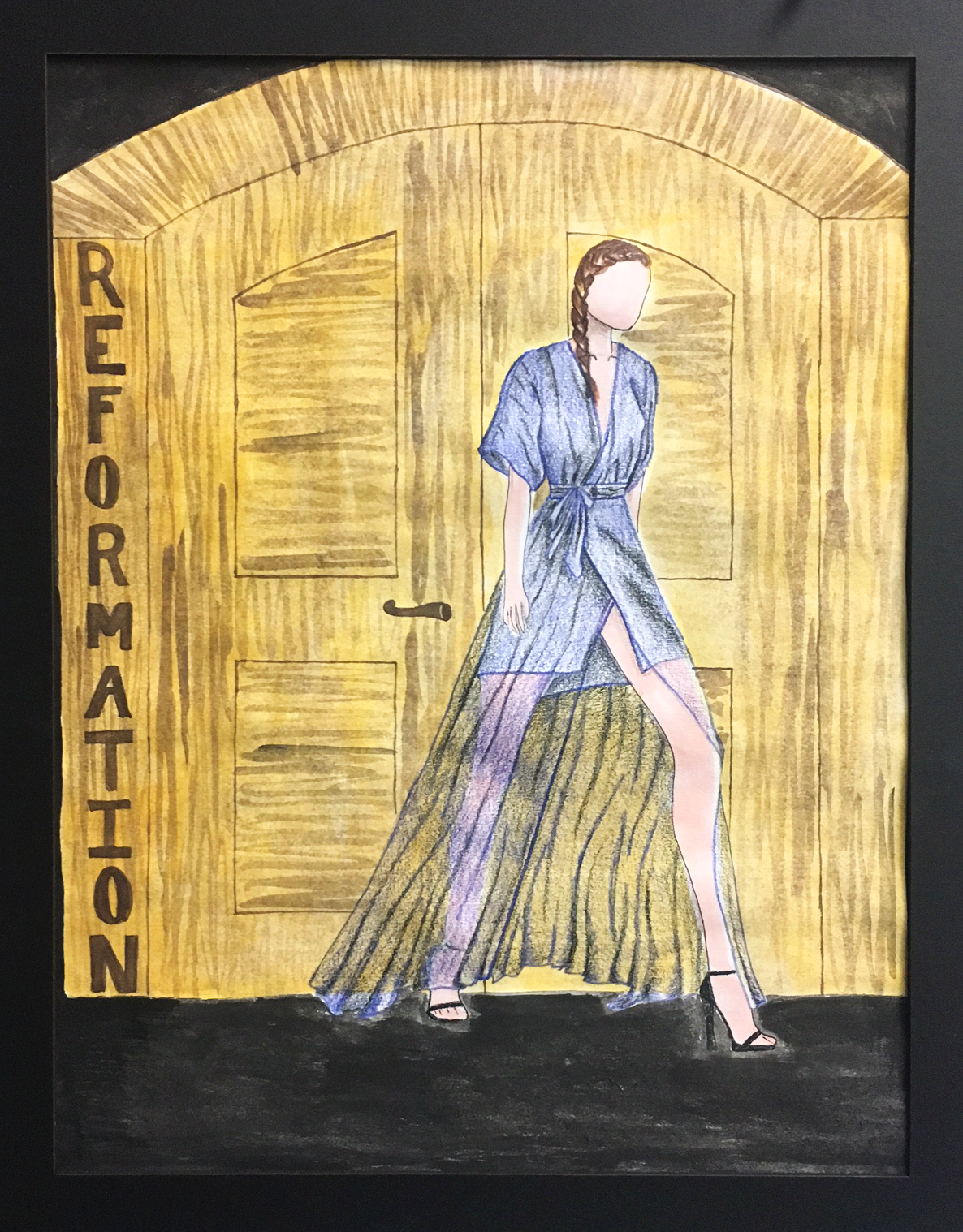 Reformation Campaign in Colored Pencil and WaterColor