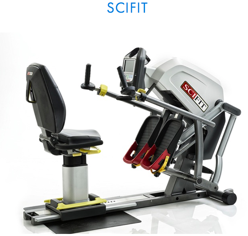 WHY SCIFIT? - Hospitals, rehabilitation centers and therapy clinics worldwide have used SCIFIT equipment for over 25 years to meet the needs of their patients. With the most extensive line of rehabilitation equipment and programs, SCIFIT has a solution every step of the way to assist clinicians in maintaining and restoring maximum movement and function for their patients. SCIFIT equipment is compatible with HUR SmartCard and HUR SmartTouch.They are easy to use, safe, comfortable and provides medical accuracy to coincide with the quality of care clinicians provide for their patients. SCIFIT makes a wide variety of products with a focus on upper body only, lower body only, and total body movements.