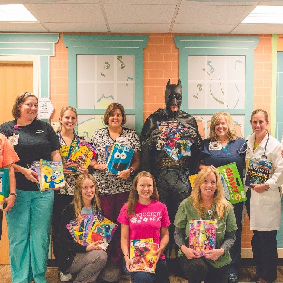 Coloring Books & Crayons Donation to Pediatric Emergency Dept