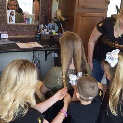 100 Ponytails Donated for Children with Hair Loss