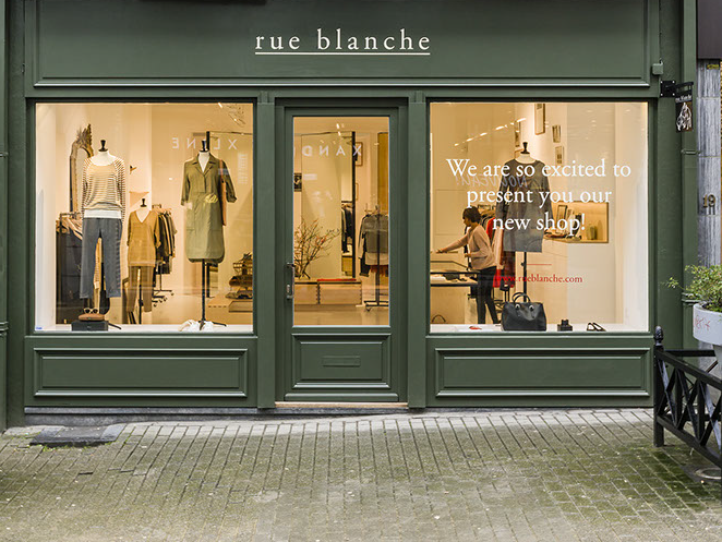 Rue blanche shop Brussels