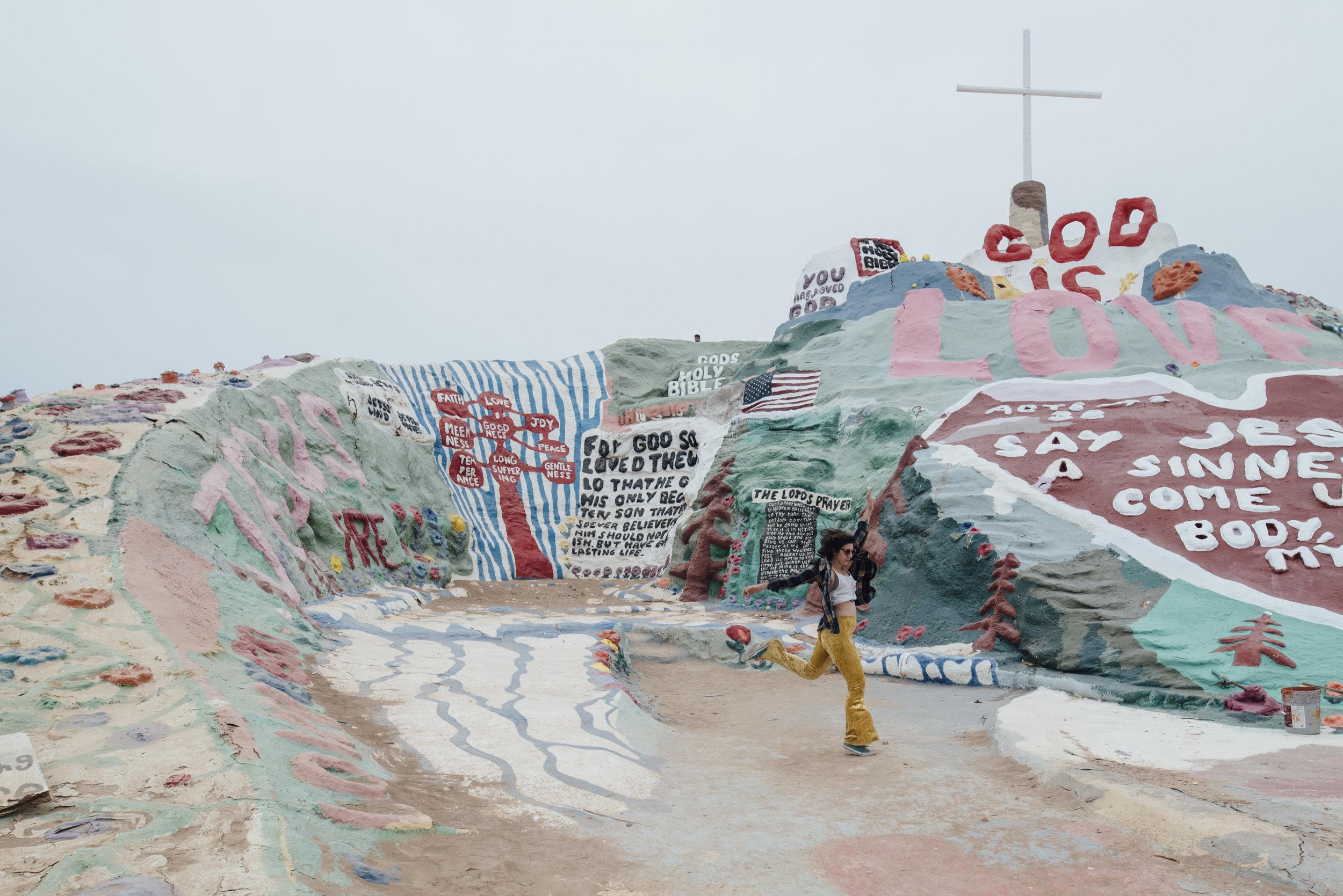 Salvation Mountain - Niland, CA 1/3/18 with Yazmine Zoraida