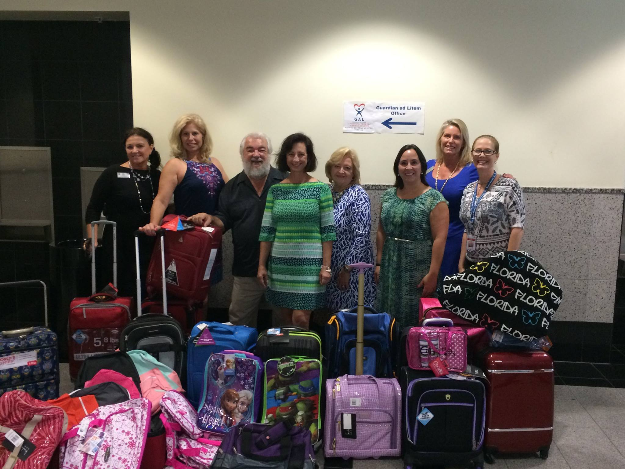 GAL Suitcases donated for kids in Foster care.jpg