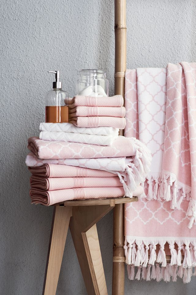 Our bathroom options extend across a wide number of colors, styles and products. Need a towel set with matching washcloths? No problem. How about a wastebasket with a matching soap dish and/or pump, toothbrush holder and rug? We got you covered. Come see what we can do for your bathroom.