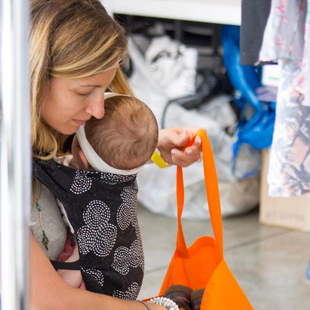 There are always some great finds at #momshoodswap. Photo by @colleen_sturtevant_photography