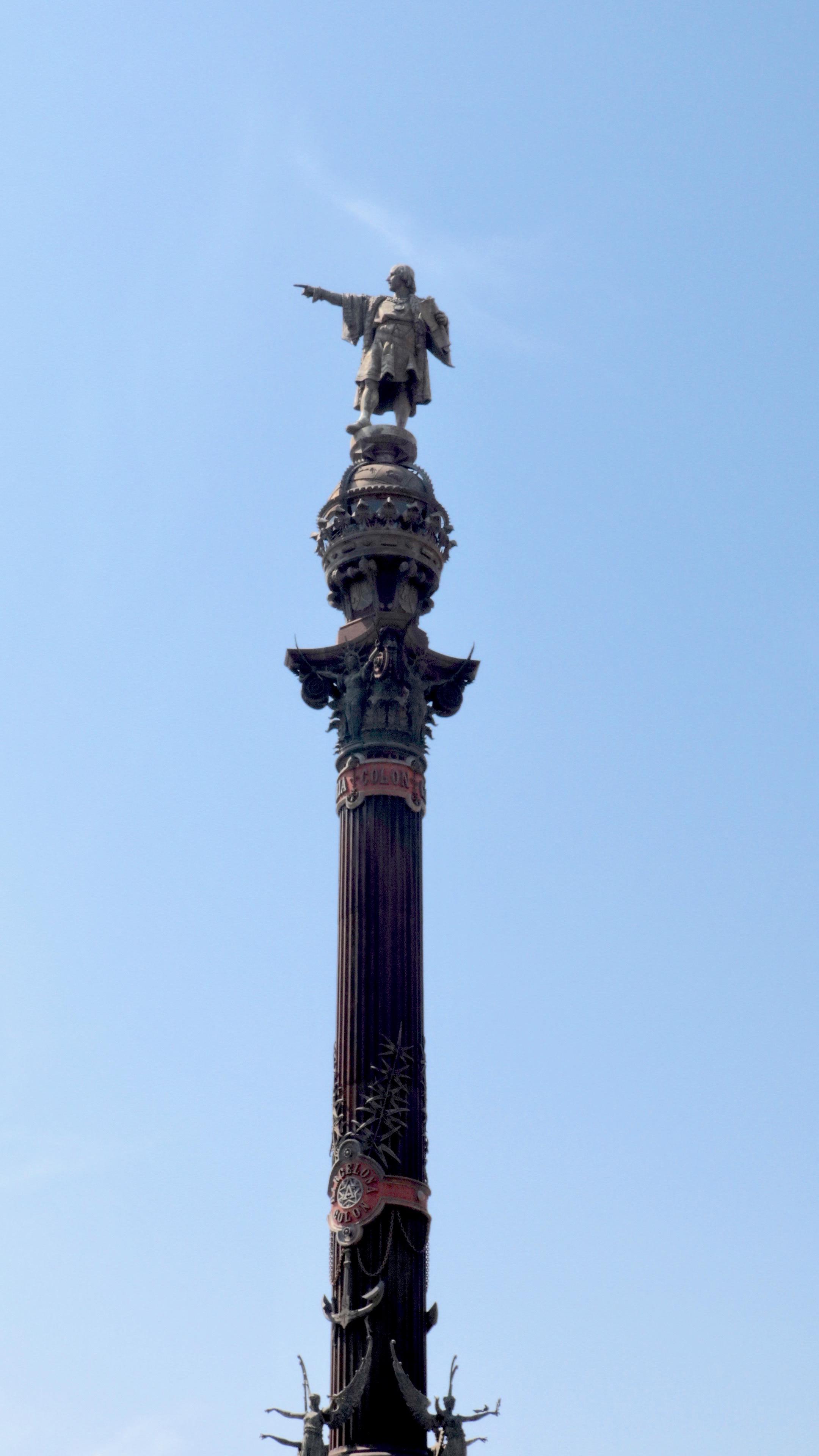 Christopher Columbus Monument (Mirador de Colum). Barcelona.