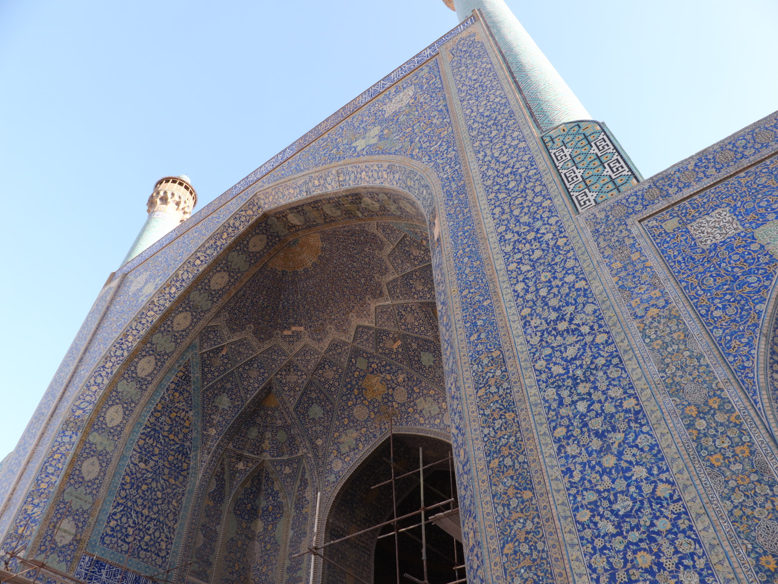 Blue Mosque, ISFAHAN.