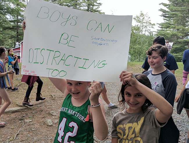 This is what Farwell campers think about school dress codes.