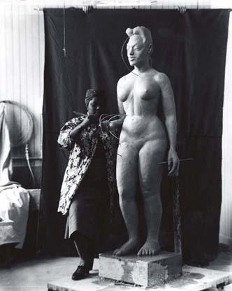 Selma slaying all day in her studio. (Image: Smithsonian American Art Museum)