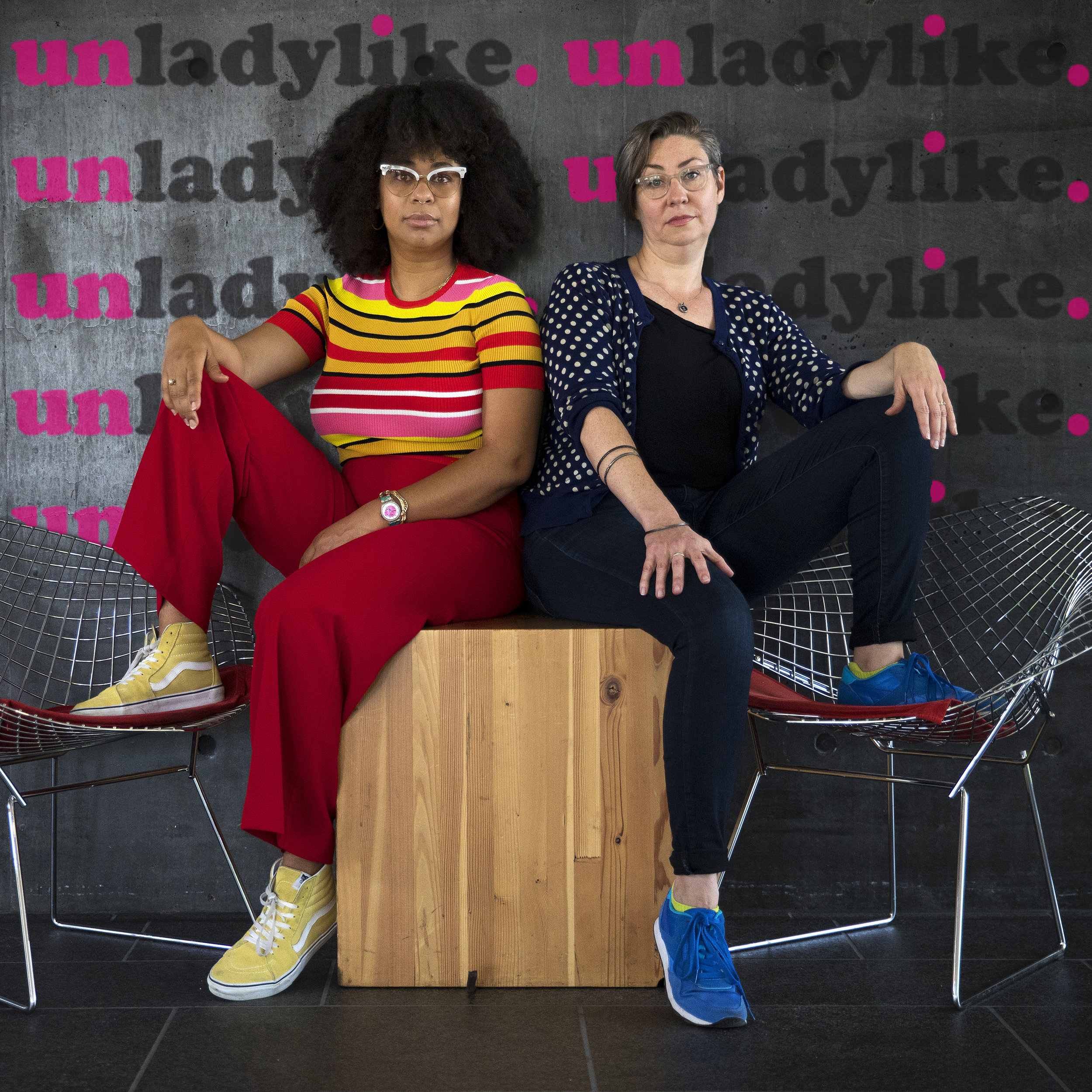Eula Scott Bynoe and Jeannie Yandel, co-hosts of Battle Tactics for Your Sexist Workplace