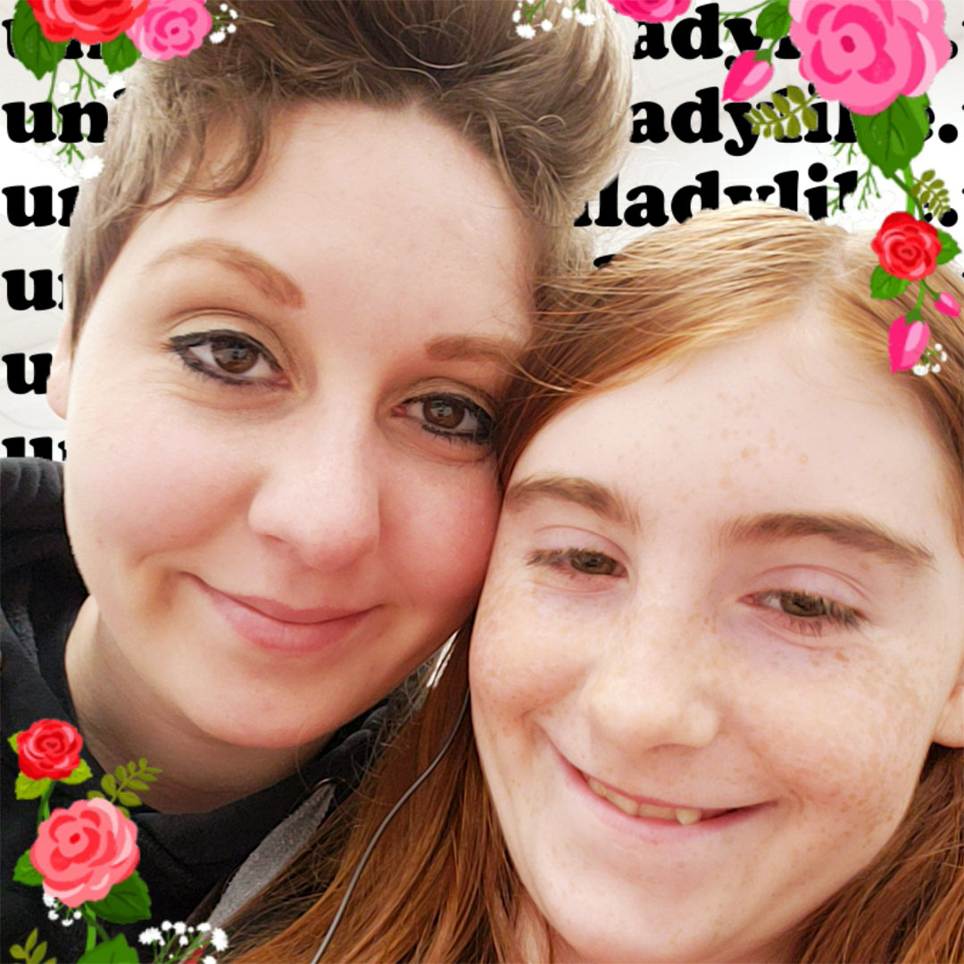 Mom-daughter duo, Kat and Vera.