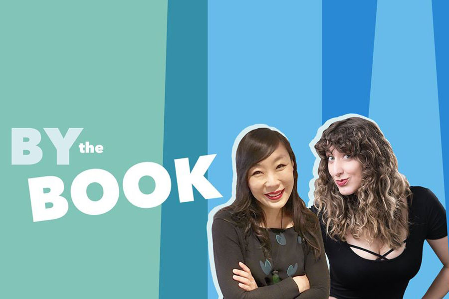 Kristen Meinzer (l) and Jolenta Greenberg (r) test drive self-help on their podcast, By the Book.