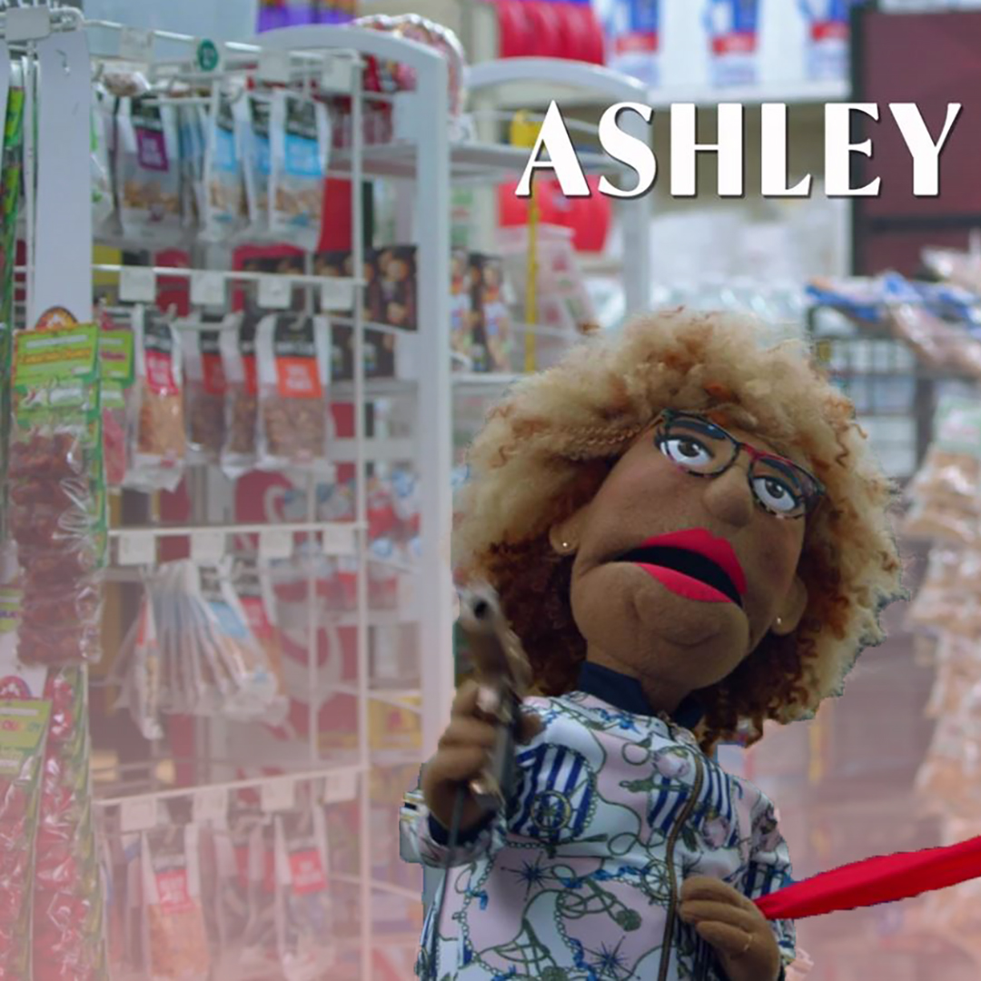 . . . And her v convincing puppet doppelganger in A Black Lady Sketch Show. (Source: HBO)