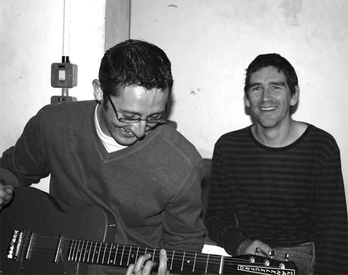 Coo 2008 05 Recording at Soup.jpg