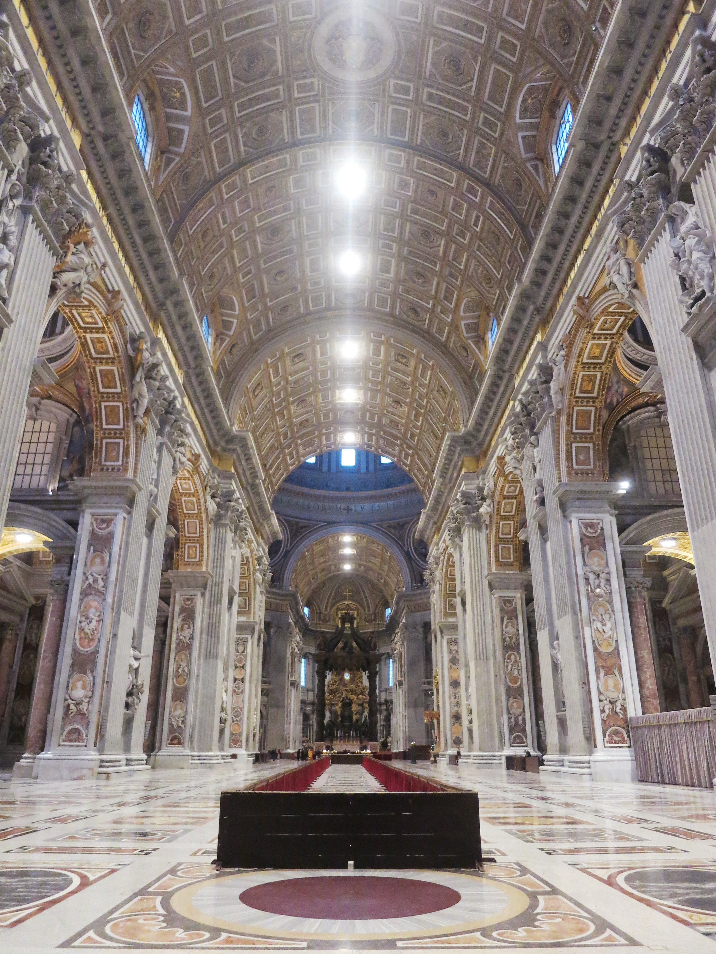A visit to St. Peter's Basilica just as it opens for the day.