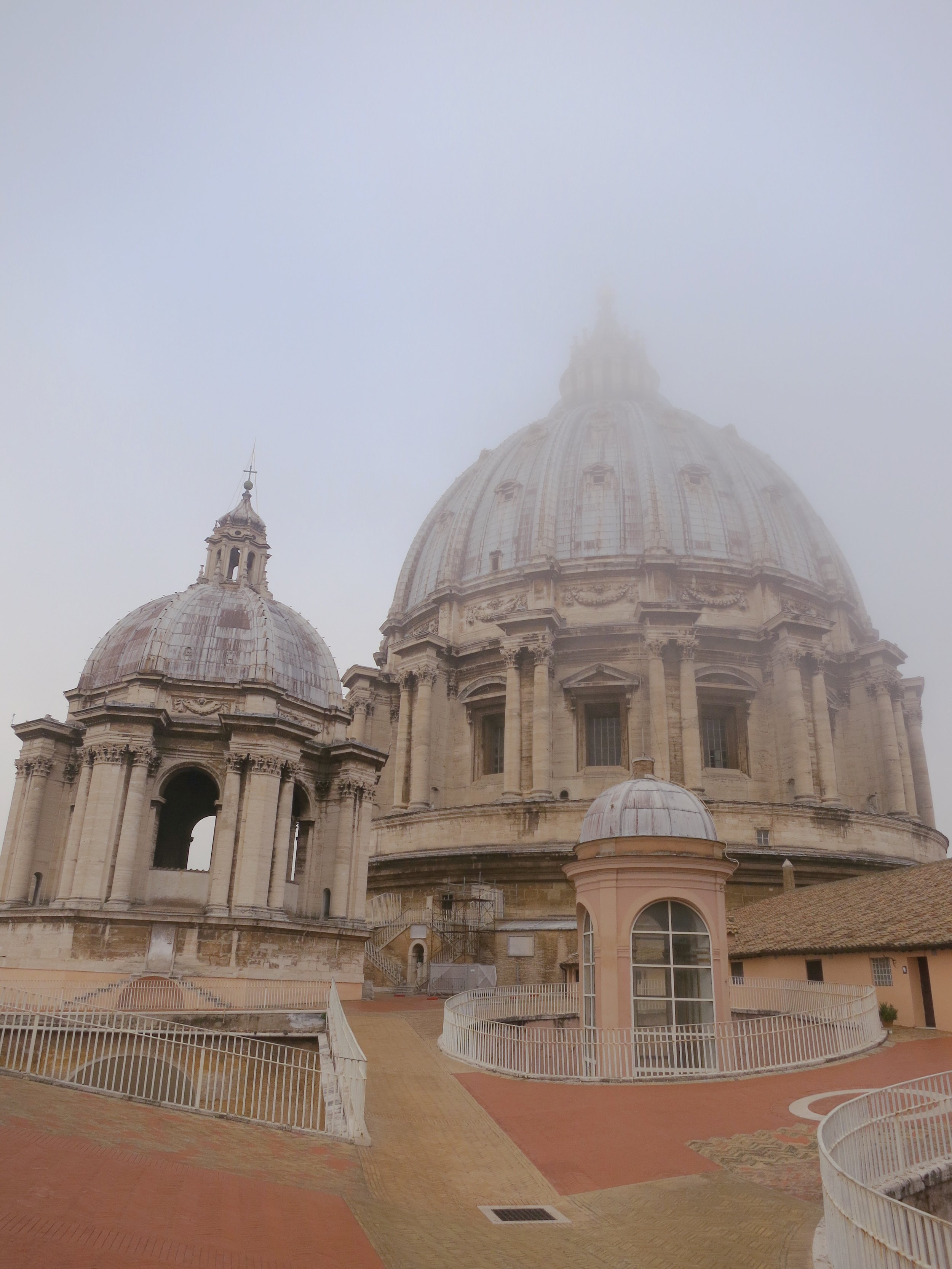 A visit to St. Peter's Basilica, in the Vatican City, just as it opens for the day.