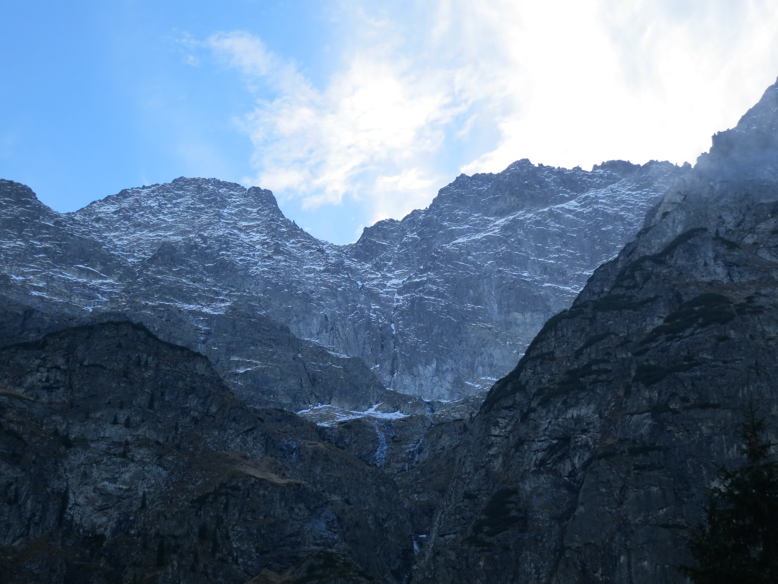 Peaks in the Tatra Mountains in Southern Poland.