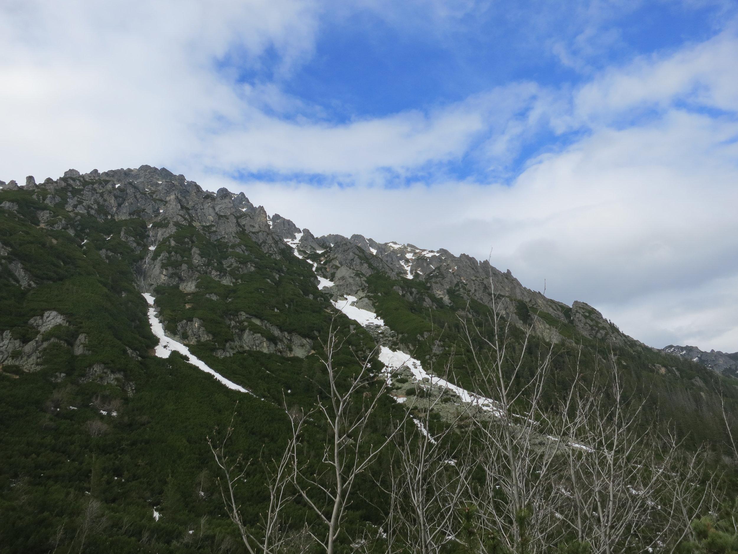 Mountain views from Dolina Pięciu Stawów